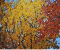 Autumn #10, diptych, 60 x 72 in.