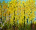 Golden Autumn, diptych, 60 x 72 in.
